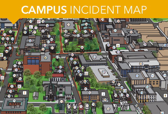 Campus Incident Map